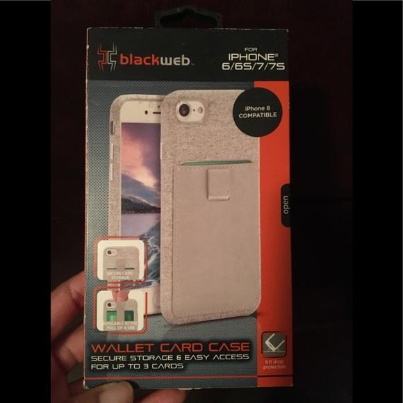 online store 8c54e 07506 iPhone 📱 case/ Blackweb wallet card 💳 case